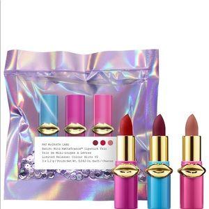 Pat McGrath lipstick Trio Mini
